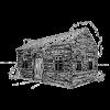 koka grīdas mājas ikona