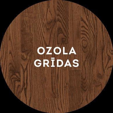 ozola koka grīdas ikona